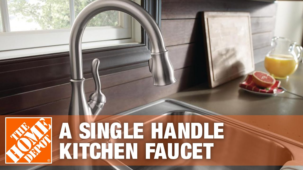 Delta Faucets How To Install A Single Handle Kitchen