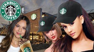 Celebrities at Starbucks