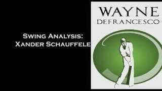 Xander Schauffele: Golf Swing Analysis
