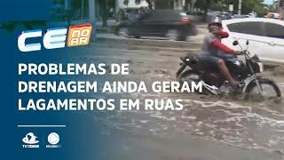 Problemas de drenagem ainda geram alagamentos em ruas e avenidas