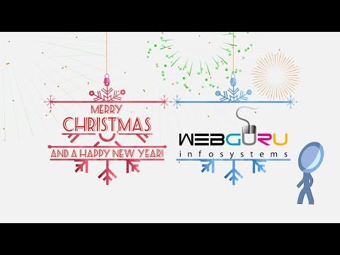 Christmas Greetings And New Year Wish From WebGuru Infosystems