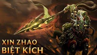 Xin Zhao Biệt Kích - Commando Xin Zhao - Skins lol