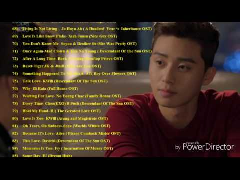 The Best OST Of Korean Drama & Film Part 4