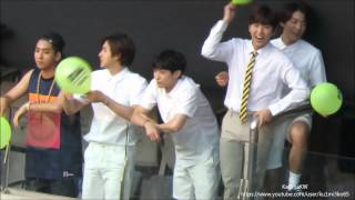 B1A4 at Dream Concert 2015 - OH MY GIRL's Fanboys YouTube 影片