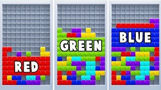 Learn Colors with Tetris Blocks for Kids | 3d Animation Video for Kids by HooplaKidz EDU