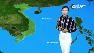 (VTC14)_Thời tiết tổng hợp ngày 09.05.2017