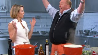 Mario Batali Takes On the $5 Dinner Challenge