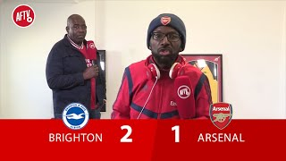 Brighton 2-1 Arsenal | Maupay Your A Cheat, And I hope Brighton Get Relegated (An Angry Ty)