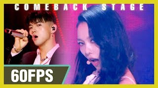 60FPS 1080P | KARD (카드) - RED MOON  Show! Music Core 20200215