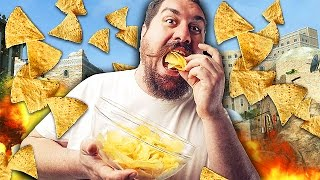 EATING CHIPS TROLL ON CALL OF DUTY! (Black Ops 2 Trolling)