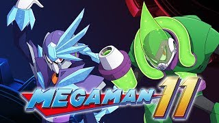Mega Man 11 - Tundra Man & Acid Man Overview (Boss, Stage, & Special Weapons) + News Roundup