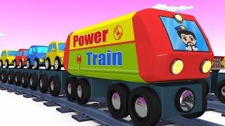 Trains for kids - Choo Choo Train - Kids Videos for Kids - Trains - Toy Factory - Cartoon Train - YouTube