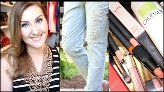 MakeupByTiffanyD – BIG HAUL! Lip Products Galore, Denim & MORE! (Sephora, GAP, Baublebar, Bendels)