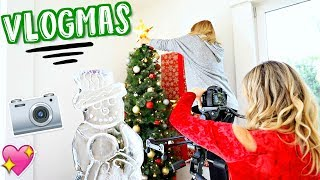 VLOGMAS 2017 INTRO + Behind the Scenes!! Alisha Marie