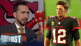 Tom Brady throws 5 TDs in Buccaneers' big win vs Falcons | Nick reacts