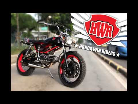 Kumpulan Hasil Modifikasi Motor Honda Win 100 Videomoviles Com