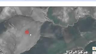 زلزال يظرب وادي رهيو     -