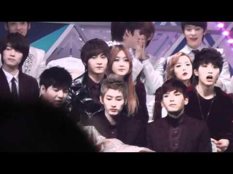 [fancam]20111229 SBS Super junior Shindong & Eunhyuk & Ryeowook