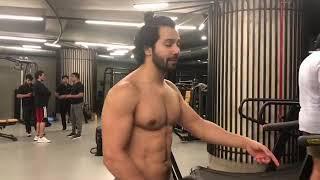 Varun Dhawan Best Motivation Workout Video   varun dvn   Motivational Workout Video   Gym lover  