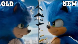ULTIMATE DESIGNS COMPARISON (Sonic Movie)