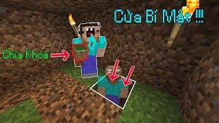 Cách Làm Cửa Bí Mật Trong Ngôi Nhà Đất (Bản Nâng Cấp) - Minecraft PE
