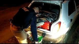 PRF prende homem transportando 20 quilos de maconha na BR 153 em Bagé