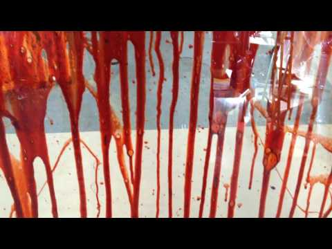 Wynonna Earp Episode 6 Blood Splatter Tests