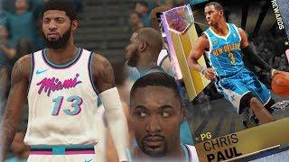 NBA 2K19 My Team - Upgrades vs Galaxy Opal Chris Paul!