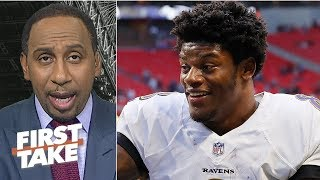 Lamar Jackson has a lot more to prove than Aaron Rodgers – Stephen A. | First Take