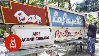 Restoring Havana's Classic Neon Signs