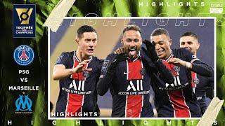 PSG vs Marseille   TROPHÉE DES CHAMPIONS HIGHLIGHTS   1/13/2021   beIN SPORTS USA