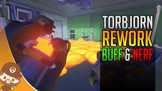 PTR: Rework Torbjörn & Buff Pharah McCree Soldier & Co - Overwatch FR