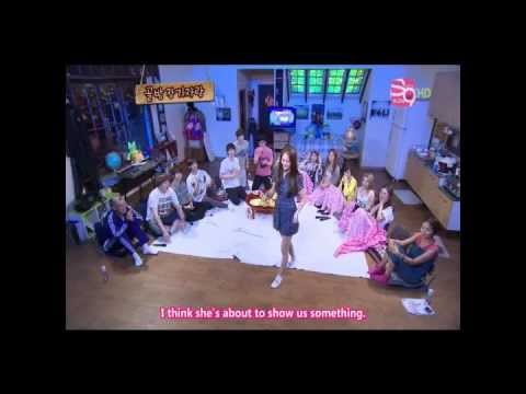 SMTOWN dance battle (funny version)