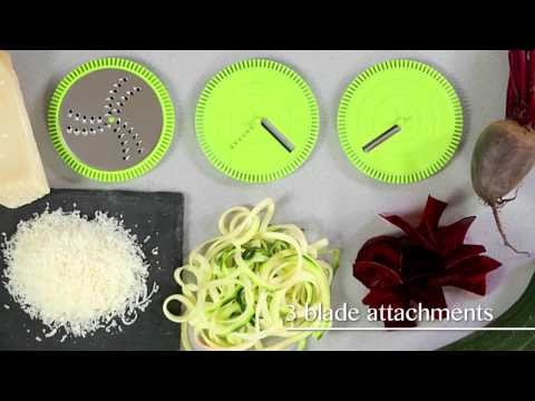 Tower Health 2-in-1 Spiralizer and Grater