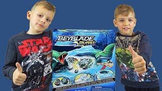 ЗМЕИНОЕ КУБЛО бейблэйд набор от Хасбро Shadow Snake Pit Battle Set Hasbro