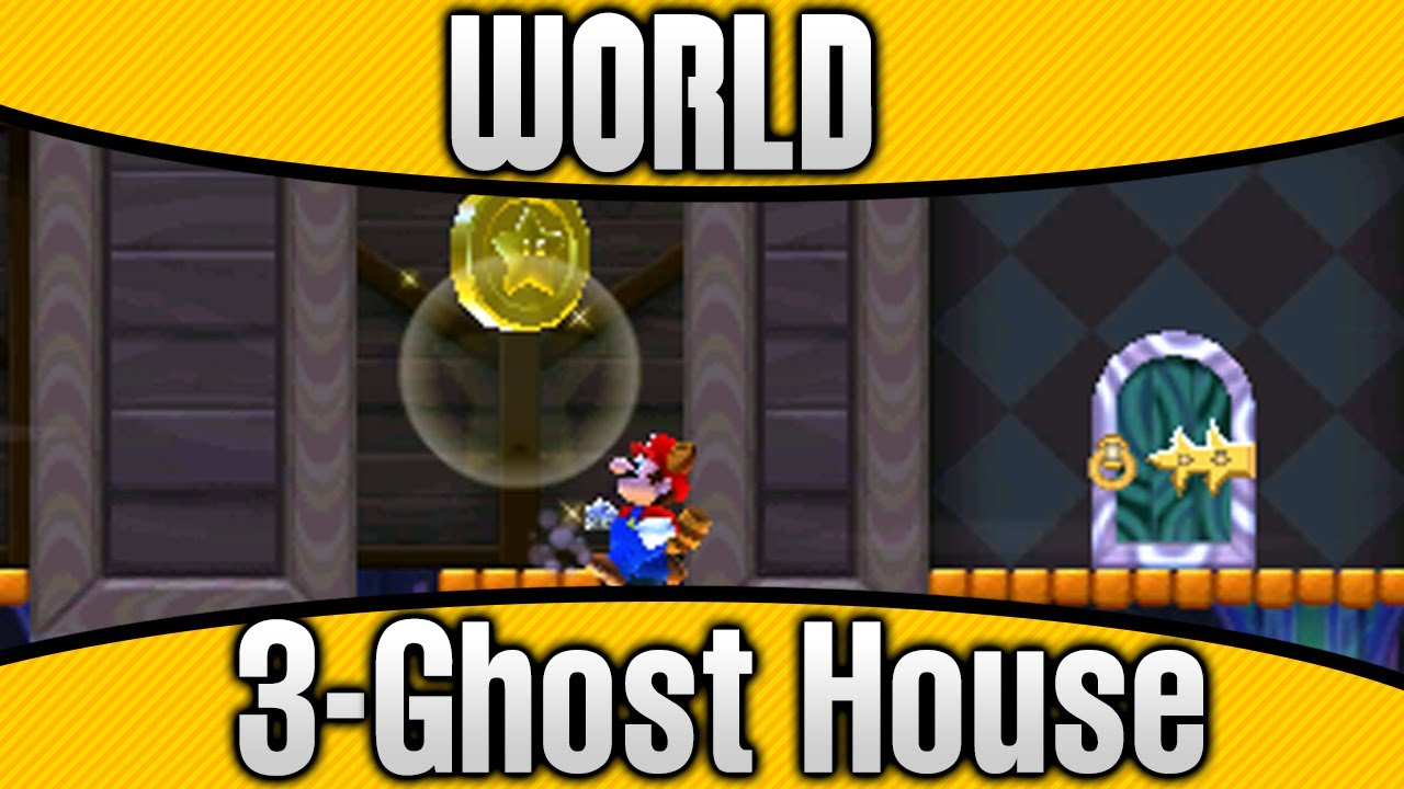 world 3 ghost house star coins