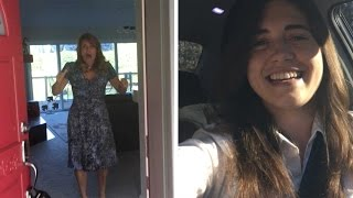 Daughter Surprises Mum After Two Years Apart