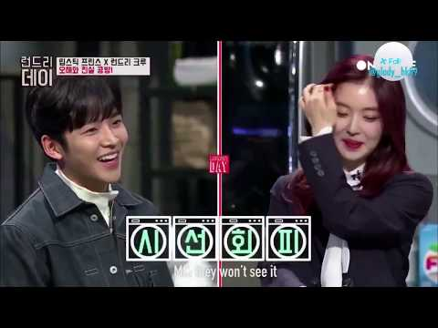 Short Film 9 #6 [ENG SUB] SF9 Rowoon's pick between AOA's Seolhyun and Red Velvet's Irene