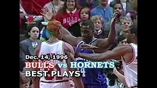 December 14, 1996 Bulls vs Hornets highlights