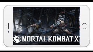 """Giới thiệu game """"rồng đen"""" Mortal Kombat X dành cho iOS và Android"""