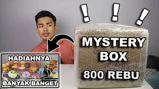 TERMANTAP!!! UNBOXING MYSTERY BOX  HADIAH TERBAIK - GA NYESEL WOY !!!