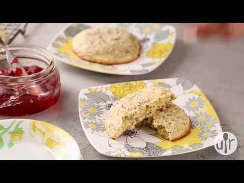 How to Make Vegan Lemon Poppy Scones