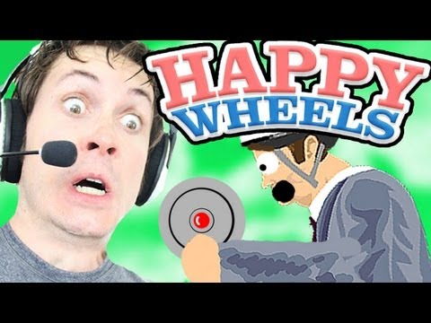 I CAUGHT A LANDMINE - Happy Wheels - Smashpipe Games