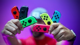 Every Nintendo Switch Joy Con Color!