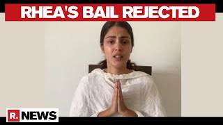 Actress Rhea's bail plea rejected by Mumbai Court; to stay..