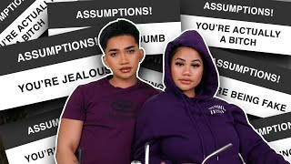 Answering your ASSumptions about us + GRWM