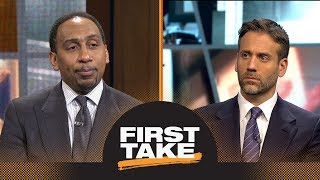 Stephen A. and Max react to Thunder losing to Jazz in first round of playoffs   First Take   ESPN