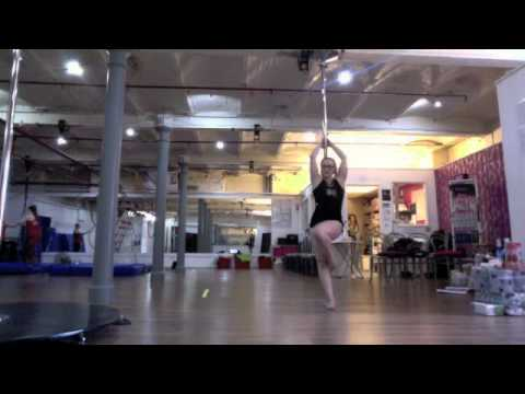 Black Velvet Pole Fitness Intermediate Routine