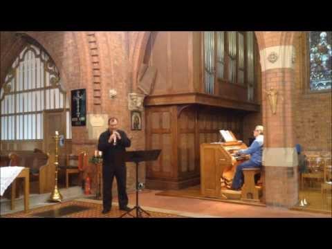 Albinoni's Oboe Concerto for soprillo and organ