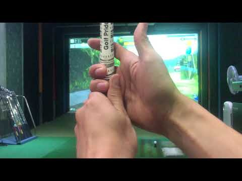 (ex1)골프그립 잡는법(1부) 왼손&오른손 그립 잡는방법입니다